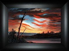 Flying Free By Todd Thunstedt 18x24 Patriotic US American... https://www.amazon.com/dp/B01N01Z45R/ref=cm_sw_r_pi_dp_x_W3okybS5J9HJ1