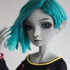 Commission   #Resinsoul #mei #ooakdoll #Custom #doll #bjd #resinsoulmei #repaint #faceup #wig #WillStore #ooak