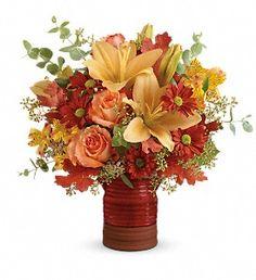 Teleflora's Harvest Crock Bouquet in Pompano Beach FL, Grace Flowers, Inc.