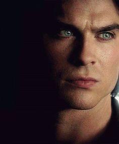 Damon looks so sad in the picture