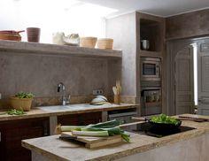 Kitchen at Ibiza's Finca