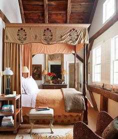 Colors colors - Architecture and Home Decor - Bedroom - Bathroom - Kitchen And Living Room Interior Design Decorating Ideas - Italian Home Decor, European Home Decor, Elegant Home Decor, Elegant Homes, Upstairs Bedroom, Home Bedroom, Master Bedroom, Bedroom Retreat, Tuscan Bedroom
