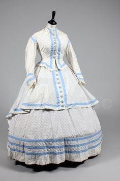 TRAJE DE VERANO 1860S