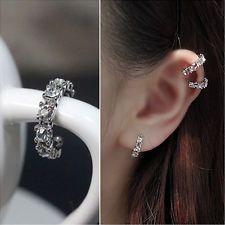 cartilage ear wrap cuffs rhinestone