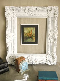 Large Ornate Frame Frames/ Mirrors by shepshaberdashery on Etsy, $65.00