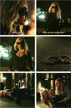 Arrow - Sara Lance #3.1 #Season 3 Sara! NOOOOOOOO!