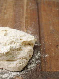 This is a fantastic, reliable, everyday pizza dough, which can also be used to make bread. It's best made with Italian Tipo '00' flour, which is finer ground than normal flour, and it will give your dough an incredible super-smooth texture. Look for it in Italian delis and good supermarkets. If using white bread flour instead, make sure it's a strong one that's high in gluten, as this will transform into a lovely, elastic dough, which is what you want. Mix in some semolina flour for a bit of…