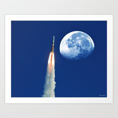 I Need My Space Art Print by Roger Wedegis - $19.99
