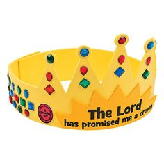This craft kit for kids will be the crowning glory to your Sunday School supplies. Perfect for younger students, it's a wonderful way to bring hom. Sunday School Crafts For Kids, Bible School Crafts, Bible Crafts For Kids, Sunday School Activities, Craft Kits For Kids, Vbs Crafts, Church Crafts, Preschool Crafts, Art For Kids