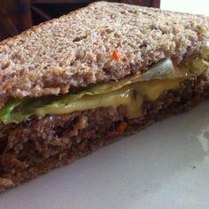 Homemade Meatloaf Sandwich