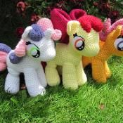 Cutie Mark Crusaders from My Little Pony - via @Craftsy