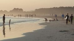 Strand Beach, Cape Town, South Africa - I met one of the nicest people from Strand. I think of her often.