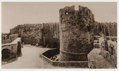 Ρόδος Παλιά Πόλη. Εσωτερική άποψη της Πύλης του Αγίου Παύλου 1927 ..