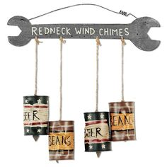 Redneck Windchime - Outdoor Decor