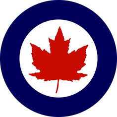 Roundel of the Royal Canadian Air Force (1946-1965) - 国籍マーク - Wikipedia