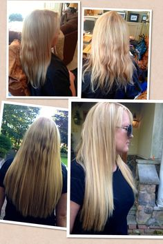 Euro So Cap Extensions Not Styled Still Blended Great Lengths Hair Pinterest And