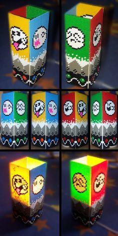 sandylandya@outlook.es  Super Mario World  Ghoast lamp perler beads by Oggey-Boggey-Man on deviantART