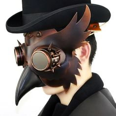 Gothic Steampunk, Moda Steampunk, Steampunk Bird, Steampunk Goggles, Steampunk Fashion, Steampunk Makeup, Steampunk Outfits, Steampunk Dress, Steampunk Cosplay