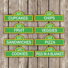 Sesame Street Food L