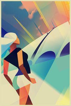 art deco poster - Google Search