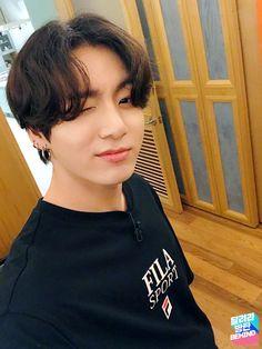 Jungkook Selca, Bts Kookie, Jungkook Cute, Bts Bangtan Boy, Bts Taehyung, Bts Boys, Namjoon, Seokjin, Jung Kook