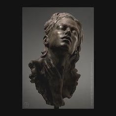 Ecstasy - finalist Art Renewal Center International Salon - Sculpture Category . #artrenewalcenter #12tharcsalon #sculpture #portrait #portraitsculpture #ecstasy #orgasm #sensuality #sexuality #pleasure #enlightment #spirituality #consciousness...