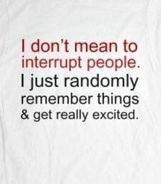 """ADHD Memes For Those Who Just Can't Stay Focused - Funny memes that """"GET IT"""" and want you to too. Get the latest funniest memes and keep up what is going on in the meme-o-sphere. Funny Quotes In Hindi, Funny Shirt Sayings, Funny Relatable Quotes, Funny Memes, Funny Happiness Quotes, Funny Quotes About Friends, Happy Quotes, Quote Shirts, Hilarious Quotes"""