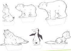 wb diorama The Little Polar Bear Coloring Sheets, Adult Coloring, Coloring Pages, The Little Polar Bear, Penguins And Polar Bears, Polar Animals, Winter Activities, Winter Theme, Preschool Crafts