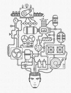 CREATIVE PROCESS by LEX NAU , via Behance