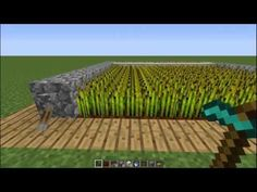 Minecraft Tutorials | How to make an Automatic Farm without Sticky Pistons - YouTube