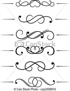 Vektor - Wirbel, Elemente - Stock Illustration, Lizenzfreie Illustration, Stock Clip-Art-Symbol, Stock Clipart Symbole, Logo, Line Art, EPS-Bild, Bilder, Grafik, Grafiken, Zeichnung, Zeichnungen, Vektorbild, Kunstwerk, EPS Vektorkunst