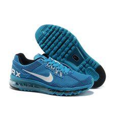 Nike Air Max 2013 Turkuaz Siyah Erkek Ayakkabı