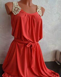 Отличное #платье на летний отдых - и в пир и в мир как говорится. #платьекрючком #люблювязать #коралловый #красный #ажур #шьюплатья #шьюназаказ #вяжутнетолькобабушки #вязаноеплатье #вяжуназаказ #dress #crochetdress #crochet #knitwear #knitting #handmadeforsale #handmade #handmadebykira   #каксидит #summerdress #summer #beachwear #beach #летнееплатье #instaknit #instacrochet by hand_made_by_kira