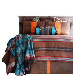 Canyon View Striped Bedding Set