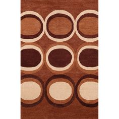 ABC Hand-tufted Circles Rug