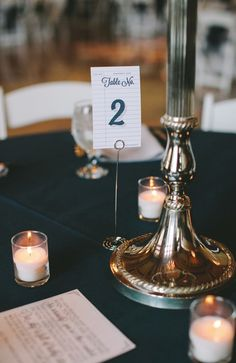 Library Card wedding place settings