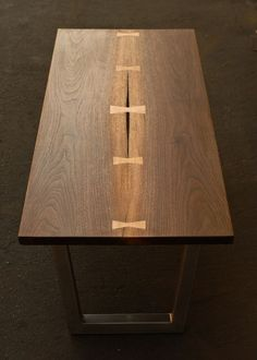 Modern Dovetail Coffee Table by Tyler Smutz, via Behance: