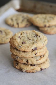 Perfect Chocolate Chip Pudding Cookies