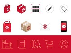 Target Icons by Louie Mantia for Pacific Helm