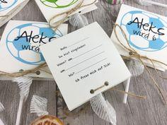 Sicher freuen sich alle Deine Gäste über diese zuckersüße, individuelle Einladungskarte! Wir gestalten sie mit Deinem Namen und Deinem Alter für Deinen Kindergeburtstag in diesem Jahr. Den Text...