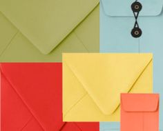 My go to source for all things envelope!  Great selection of colors & styles!