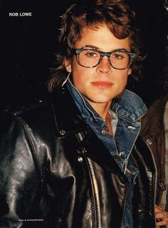 Rob Lowe and the glasses that won't quit