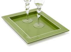Accessories For Entertaining | Gelato Tray - Green | Z Gallerie