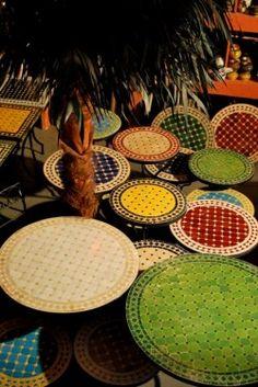 Marokkaanse MOZAIEKTAFELS en Fonteinen. Marokko Mozaiek: het adres voor uw mozaiektafel