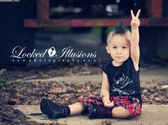 punk toddler #punk #rocker #alt #photography
