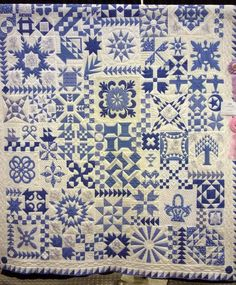 Sampler Quilt, just love it!