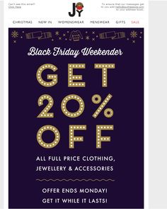 black friday email 2014