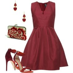 """""""Burgundy"""" by mag13 on Polyvore"""
