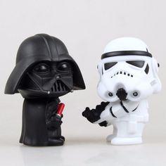 StarWars Darth Vader & Storm Trooper Action Figure