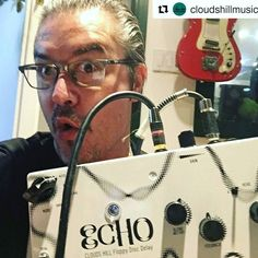 Mike Patton's got his @cloudshillmusic Floppy Disc Delay. Be like Mike and grab one now from soundgas.com - - only 30 of them are being made... #Repost @cloudshillmusic  Seems like Mike Patton is having a great Sunday with his new Clouds Hill ECHO ! Thank for the picture ! #mikepatton #mikepattonisgod #ipecac #ipecacrecordings #fantômas #fantomas #faithnomore #floppydiscdelay #cloudshillfx #cloudshillecho #uniqueandboutique @ipecacrecordings @faithnomore @mikepatton_